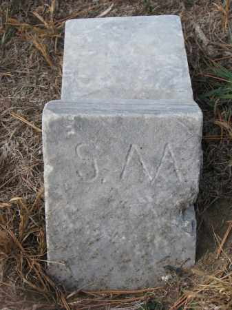 UNKNOWN, S.M. - Stanton County, Nebraska | S.M. UNKNOWN - Nebraska Gravestone Photos