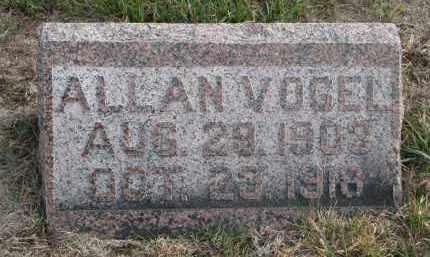 VOGEL, ALLAN - Stanton County, Nebraska | ALLAN VOGEL - Nebraska Gravestone Photos