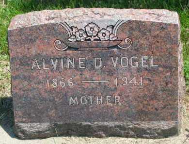 VOGEL, ALVINE D. - Stanton County, Nebraska | ALVINE D. VOGEL - Nebraska Gravestone Photos