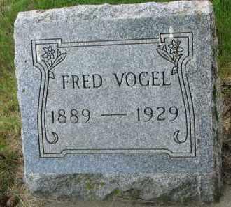 VOGEL, FRED - Stanton County, Nebraska | FRED VOGEL - Nebraska Gravestone Photos