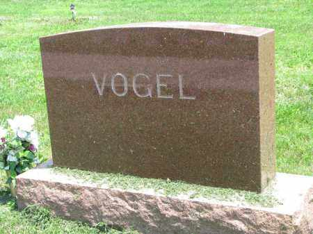 VOGEL, FAMILY STONE - Stanton County, Nebraska | FAMILY STONE VOGEL - Nebraska Gravestone Photos