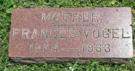 VOGEL, FRANCES - Stanton County, Nebraska | FRANCES VOGEL - Nebraska Gravestone Photos