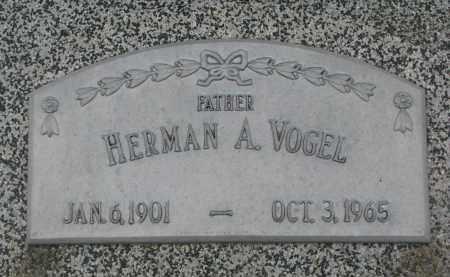 VOGEL, HERMAN A. - Stanton County, Nebraska | HERMAN A. VOGEL - Nebraska Gravestone Photos