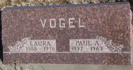 VOGEL, PAUL A. - Stanton County, Nebraska | PAUL A. VOGEL - Nebraska Gravestone Photos