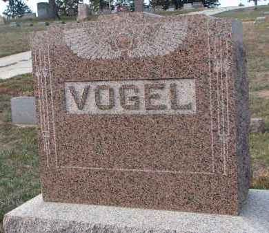 VOGEL, PLOT STONE - Stanton County, Nebraska | PLOT STONE VOGEL - Nebraska Gravestone Photos