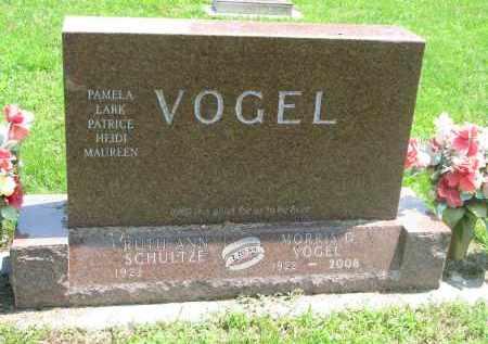 VOGEL, RUTH ANN - Stanton County, Nebraska | RUTH ANN VOGEL - Nebraska Gravestone Photos