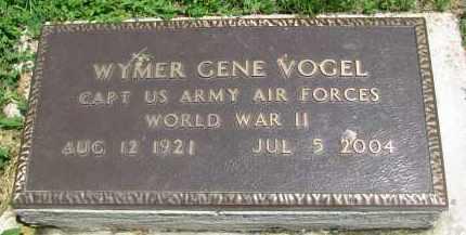 VOGEL, WYMER GENE - Stanton County, Nebraska | WYMER GENE VOGEL - Nebraska Gravestone Photos