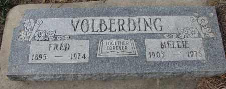 VOLBERDING, FRED - Stanton County, Nebraska | FRED VOLBERDING - Nebraska Gravestone Photos