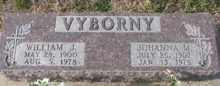 VYBORNY, JOHANNA M. - Stanton County, Nebraska | JOHANNA M. VYBORNY - Nebraska Gravestone Photos