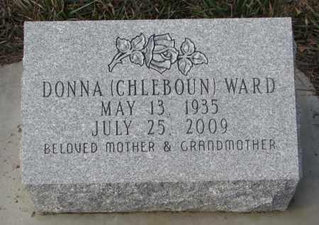 WARD, DONNA - Stanton County, Nebraska | DONNA WARD - Nebraska Gravestone Photos