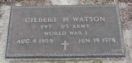 WATSON, GILBERT H. - Stanton County, Nebraska   GILBERT H. WATSON - Nebraska Gravestone Photos