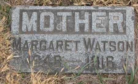WATSON, MARGARET - Stanton County, Nebraska   MARGARET WATSON - Nebraska Gravestone Photos