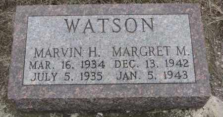 WATSON, MARGRET M. - Stanton County, Nebraska | MARGRET M. WATSON - Nebraska Gravestone Photos