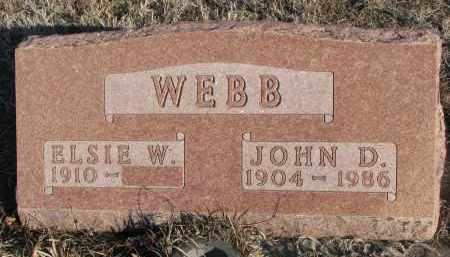 WEBB, JOHN D. - Stanton County, Nebraska | JOHN D. WEBB - Nebraska Gravestone Photos