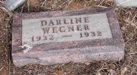 WEGNER, DARLINE - Stanton County, Nebraska   DARLINE WEGNER - Nebraska Gravestone Photos