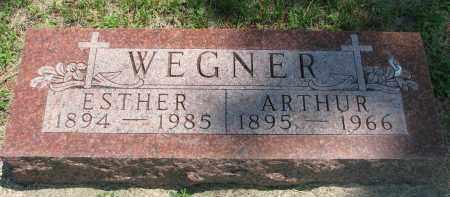 WEGNER, ARTHUR - Stanton County, Nebraska | ARTHUR WEGNER - Nebraska Gravestone Photos