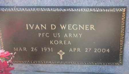 WEGNER, IVAN D. (MILITARY) - Stanton County, Nebraska   IVAN D. (MILITARY) WEGNER - Nebraska Gravestone Photos