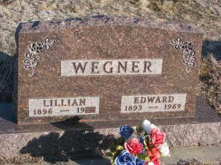 WEGNER, EDWARD - Stanton County, Nebraska | EDWARD WEGNER - Nebraska Gravestone Photos