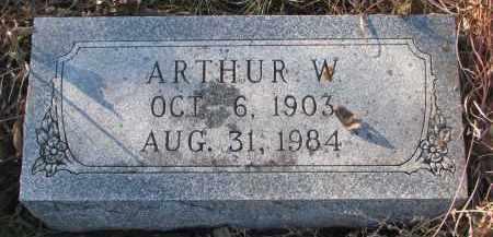 WEICHENTHAL, ARTHUR W. - Stanton County, Nebraska | ARTHUR W. WEICHENTHAL - Nebraska Gravestone Photos