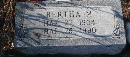 WEICHENTHAL, BERTHA M. - Stanton County, Nebraska | BERTHA M. WEICHENTHAL - Nebraska Gravestone Photos