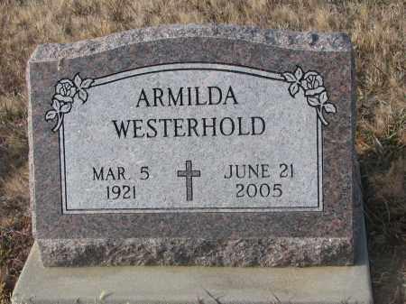 WESTERHOLD, ARMILDA - Stanton County, Nebraska | ARMILDA WESTERHOLD - Nebraska Gravestone Photos