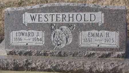 WESTERHOLD, EDWARD J. - Stanton County, Nebraska | EDWARD J. WESTERHOLD - Nebraska Gravestone Photos