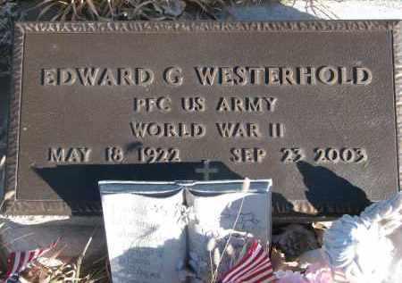 WESTERHOLD, EDWARD G. (WW II) - Stanton County, Nebraska | EDWARD G. (WW II) WESTERHOLD - Nebraska Gravestone Photos