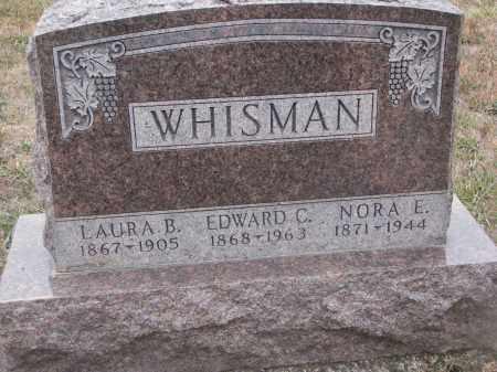 WHISMAN, LAURA B. - Stanton County, Nebraska | LAURA B. WHISMAN - Nebraska Gravestone Photos
