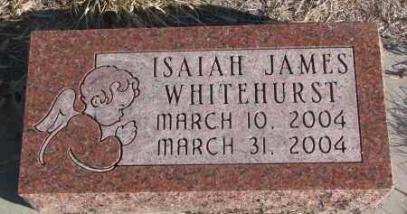 WHITEHURST, ISAIAH JAMES - Stanton County, Nebraska   ISAIAH JAMES WHITEHURST - Nebraska Gravestone Photos