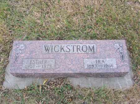 WICKSTROM, ESTHER - Stanton County, Nebraska | ESTHER WICKSTROM - Nebraska Gravestone Photos