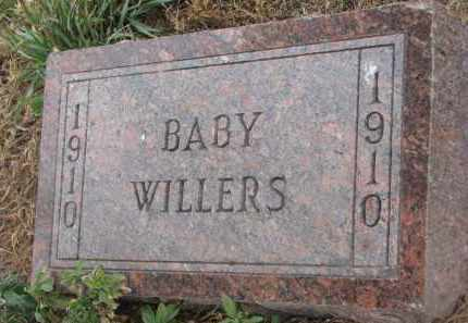 WILLERS, BABY - Stanton County, Nebraska   BABY WILLERS - Nebraska Gravestone Photos