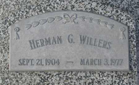 WILLERS, HERMAN G. - Stanton County, Nebraska | HERMAN G. WILLERS - Nebraska Gravestone Photos
