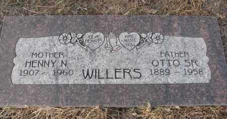 WILLERS, OTTO SR. - Stanton County, Nebraska | OTTO SR. WILLERS - Nebraska Gravestone Photos