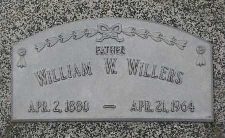 WILLERS, WILLIAM W. - Stanton County, Nebraska | WILLIAM W. WILLERS - Nebraska Gravestone Photos