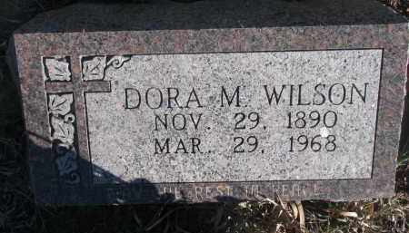 WILSON, DORA M. - Stanton County, Nebraska | DORA M. WILSON - Nebraska Gravestone Photos
