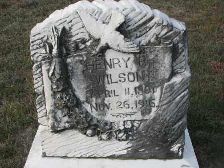 WILSON, HENRY P. - Stanton County, Nebraska   HENRY P. WILSON - Nebraska Gravestone Photos