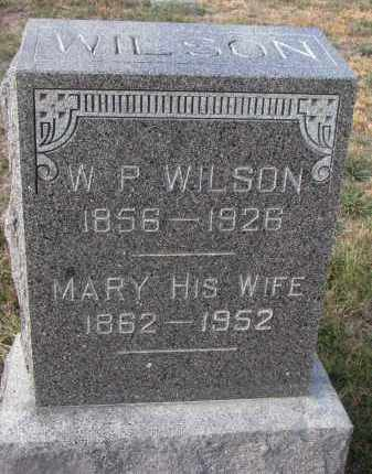 WILSON, MARY - Stanton County, Nebraska | MARY WILSON - Nebraska Gravestone Photos