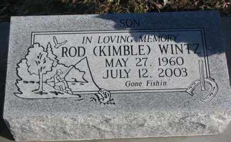 WINTZ, ROD - Stanton County, Nebraska | ROD WINTZ - Nebraska Gravestone Photos