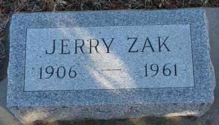 WITTE, JERRY ZAK - Stanton County, Nebraska | JERRY ZAK WITTE - Nebraska Gravestone Photos