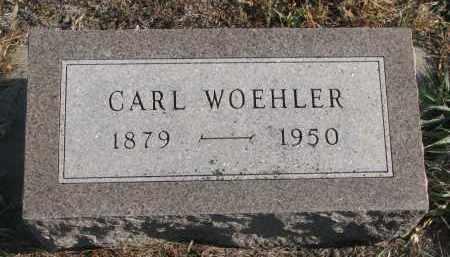 WOEHLER, CARL - Stanton County, Nebraska | CARL WOEHLER - Nebraska Gravestone Photos