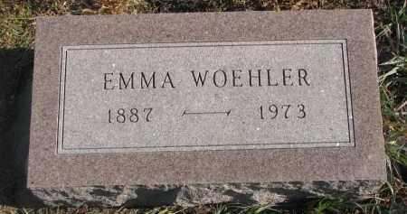 WOEHLER, EMMA - Stanton County, Nebraska | EMMA WOEHLER - Nebraska Gravestone Photos