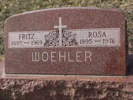 WOEHLER, ROSA - Stanton County, Nebraska   ROSA WOEHLER - Nebraska Gravestone Photos