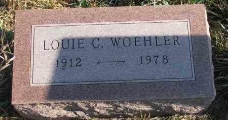 WOEHLER, LOUIE C. - Stanton County, Nebraska | LOUIE C. WOEHLER - Nebraska Gravestone Photos
