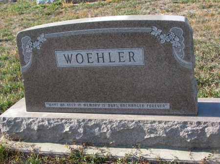 WOEHLER, PLOT STONE - Stanton County, Nebraska | PLOT STONE WOEHLER - Nebraska Gravestone Photos