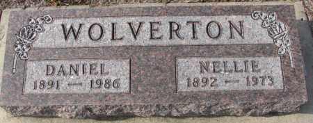 WOLVERTON, DANIEL - Stanton County, Nebraska | DANIEL WOLVERTON - Nebraska Gravestone Photos