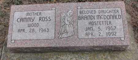ROSS WOOD, CAMMY - Stanton County, Nebraska | CAMMY ROSS WOOD - Nebraska Gravestone Photos