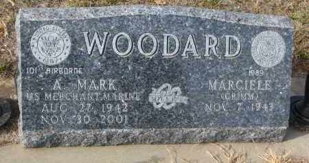 WOODARD, A. MARK - Stanton County, Nebraska | A. MARK WOODARD - Nebraska Gravestone Photos