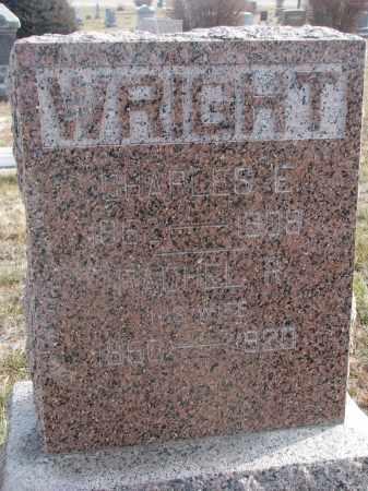 WRIGHT, RACHEL R. - Stanton County, Nebraska | RACHEL R. WRIGHT - Nebraska Gravestone Photos