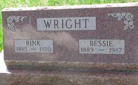 WRIGHT, RINK - Stanton County, Nebraska | RINK WRIGHT - Nebraska Gravestone Photos