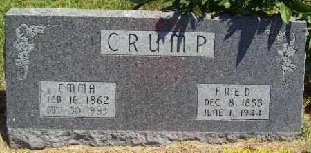 CRUMP, EMMA - Thayer County, Nebraska | EMMA CRUMP - Nebraska Gravestone Photos